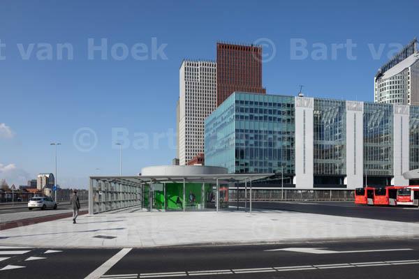 Busplatform Den Haag Centraal