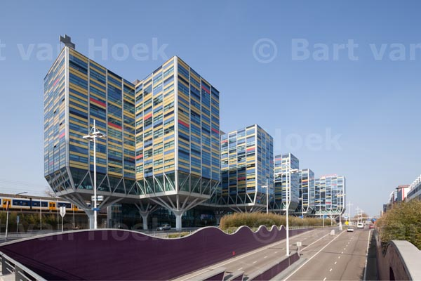 Kantoorgebouw Le Carrefour