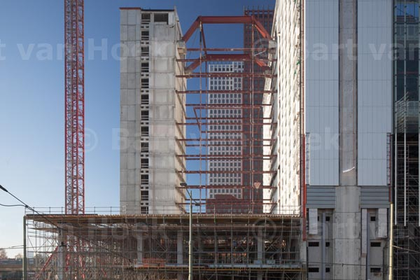 Rijnstraat 8, de bouw