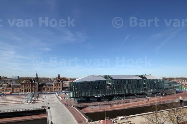 Stadskantoor en station Delft