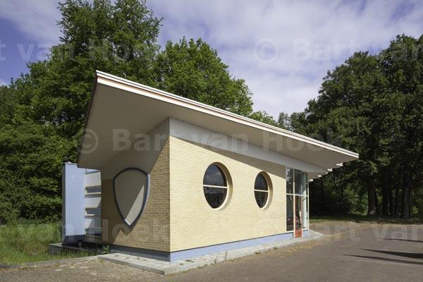 Voormalig benzinestation